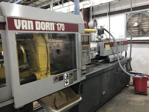 1998 170 ton Van Dorn 10.7 oz