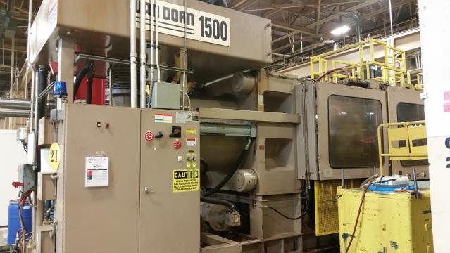 1999 1500 ton Van Dorn 260 oz