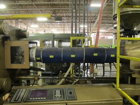 1985 700 ton Cincinnati, 110 oz