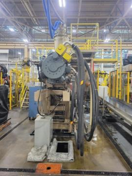 1991 1500 ton Van Dorn 260 oz. Wide Platen injection Molding Machine