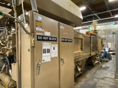 1991 700 ton HPM 250 oz. Wide Platen