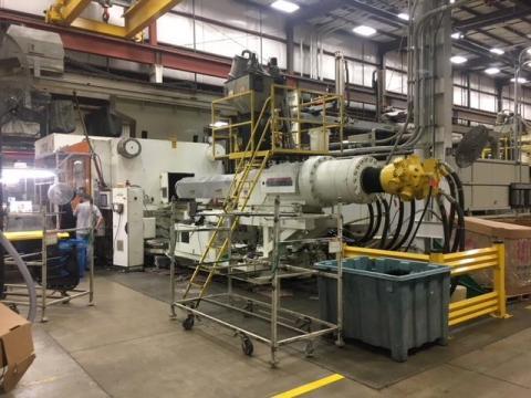 1994 3000 ton Van Dorn 400 oz Sigmatek Controls