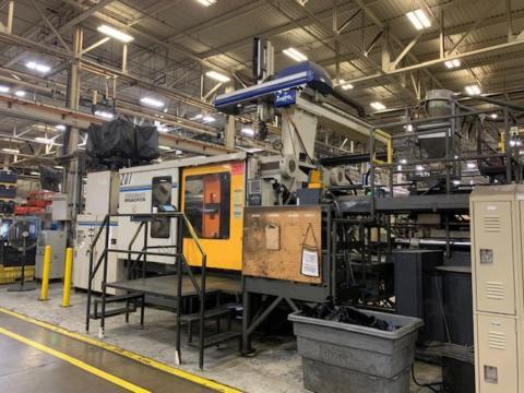 2002 1500 ton Nissei 297.10 oz FV9400 1437 US Ton