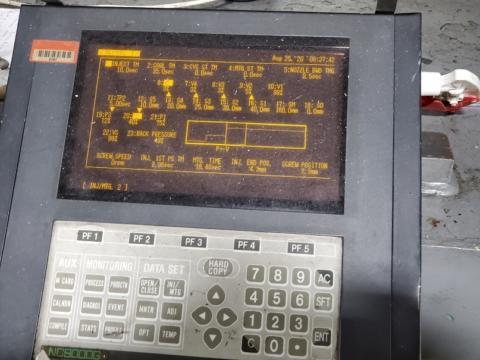 1995 720 ton Nissei, 168 oz. PH660