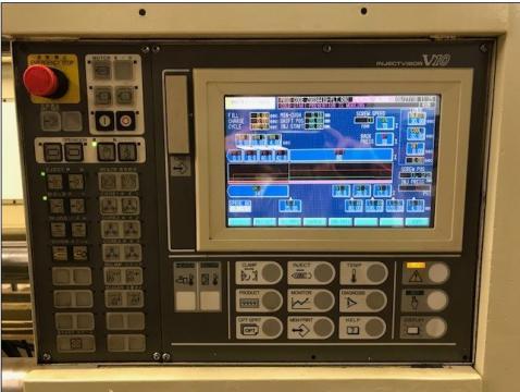 1995 610 ton Toshiba 160 oz ISGS610-V10