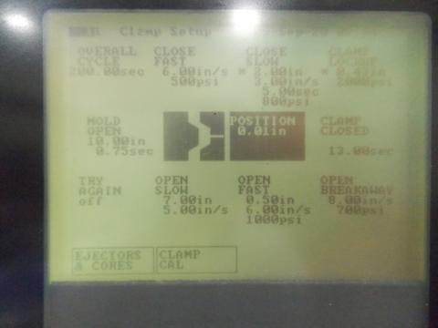 1996 85 ton Van Dorn 5 oz Pathfinder Controls