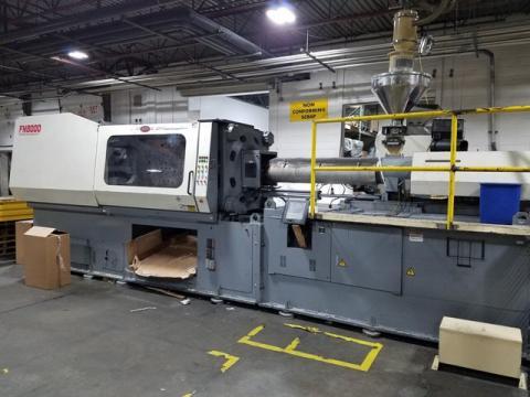 1997 FN8000 503 ton Nissei, 54.4 oz