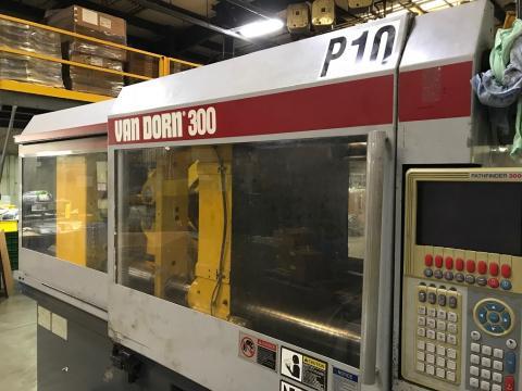 2000 300 ton Van Dorn, 40.3 oz