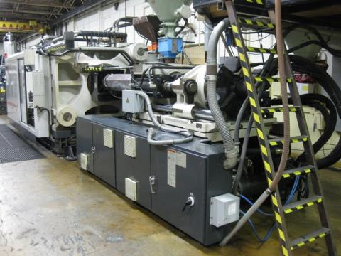 2000 1100 ton Cincinnati 181 oz. Wide Platen