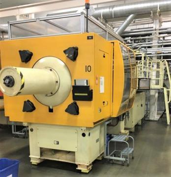 2002 330 ton Husky H300 28.7 oz
