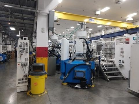 2008 800 ton Netstal 2-shot Electric 43.39 oz / 34.39 oz