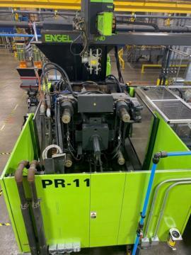 2009 550 ton Engel 88.9 oz. DUO5550/550 US Injection Molding Machine