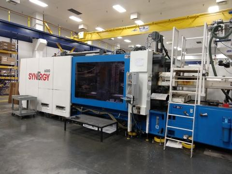 2011 600 ton Netstal Synergy, 54.54 oz