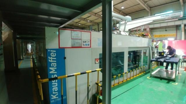 2011 2700 ton Krauss-Maffei KM2700-17200MX 310 oz