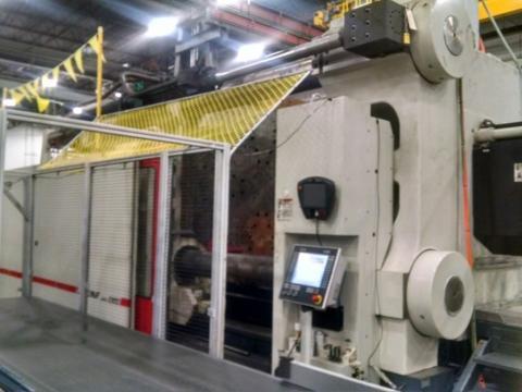 2014 2300 ton Cincinnati, 362 oz Maxima G servo