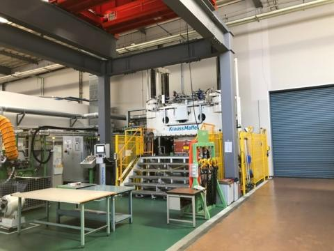 2017 Krauss-Maffei 1000 ton High Temperature Resin Transfer Molding HT RTM