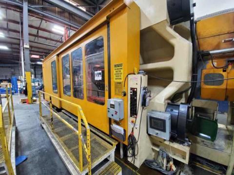 1996 3465 ton Husky 1992 oz D3150P 290/290 E170 Injection Molding Machine
