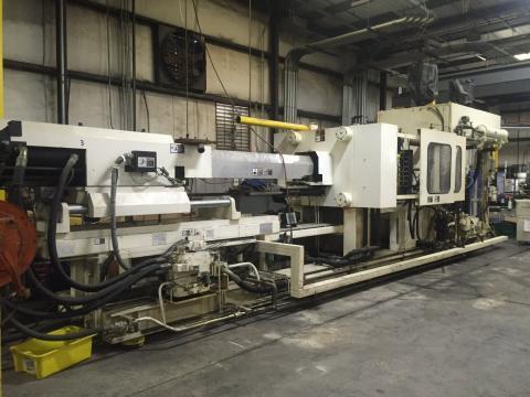 1999 500 ton Van Dorn, 59 oz Pathfinder 5000