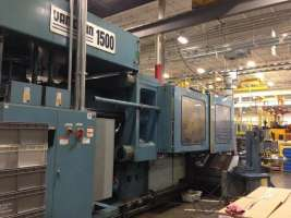 1996 1500 ton Van Dorn Wide Platen, 400 oz