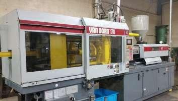 1996 170 ton Van Dorn, 14 oz