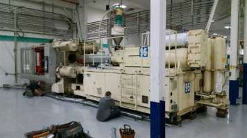 1998 650 ton Krauss-Maffei, 98 oz