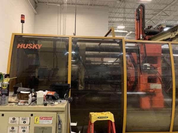 1998 660 ton Husky G600 RS100/85 78.3 oz.