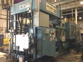 1999 1500 ton Van Dorn Wide Platen, 400 oz