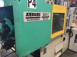 1999 60 ton Arburg 4.56 oz 320C 600-250 U