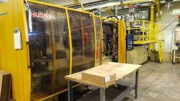 2000 550 ton Husky, 79 oz G500 RS100/85