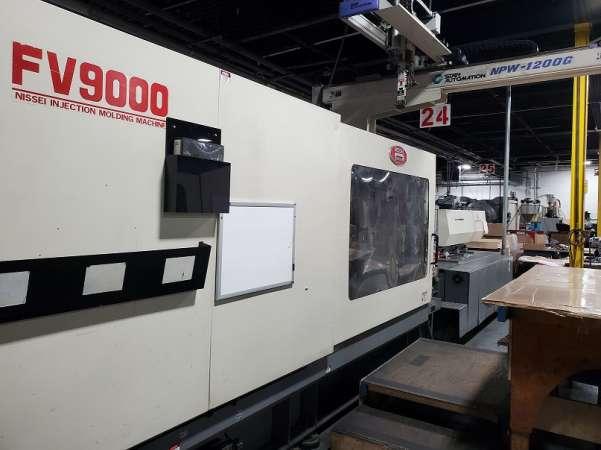 2002 616 ton Nissei, 132 oz. FV9000