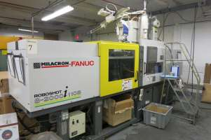 2007 110 ton Cincinnati Roboshot, 6.02 oz S-2000I-110B
