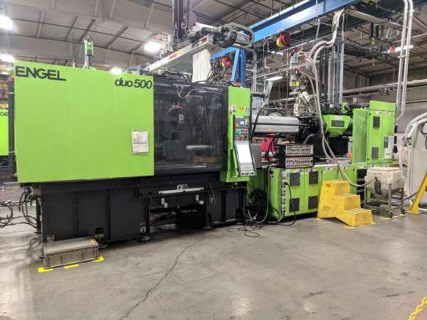 2009 550 ton Engel 88.9 oz DUO5550/550 US