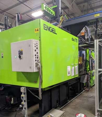 2009 770 ton Engel 176 oz DUO7050/770 PICO US