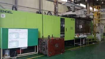 2010 1500 ton Engel, 2-Color