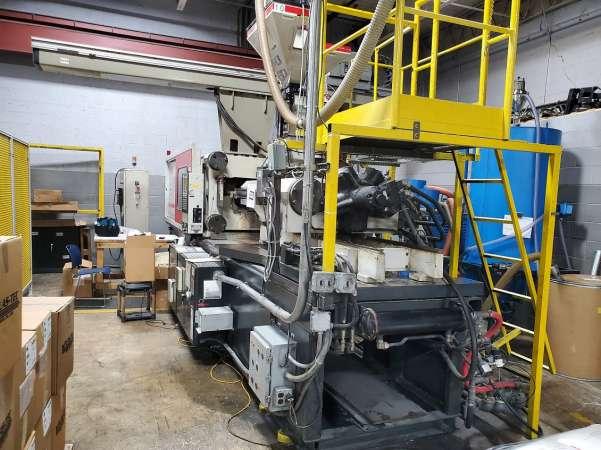 2002 398 ton Nissei, 42.9 oz. FN7000