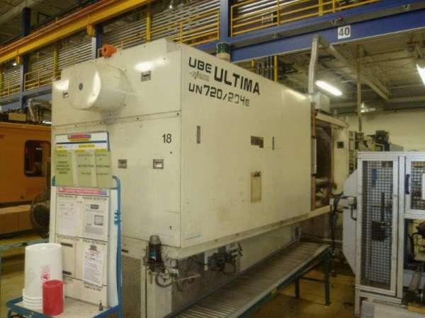 2002 720 Ton UBE Electric, 204 oz.