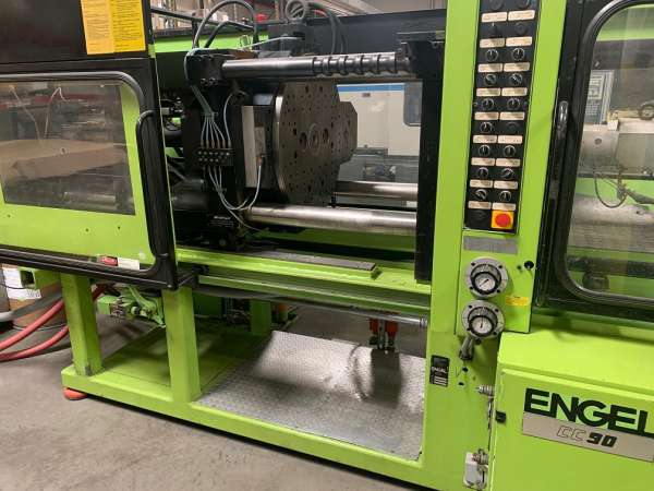 1993 200 ton Engel 2-color injection molding machine