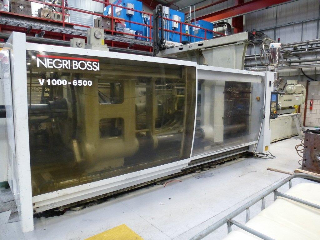 2003 1000 ton Negri Bossi Electric, 126 oz.