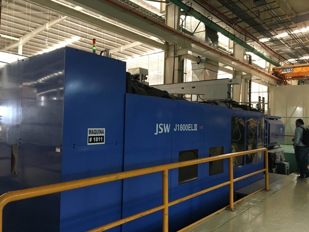 2008 1800 ton JSW 167 oz Electric