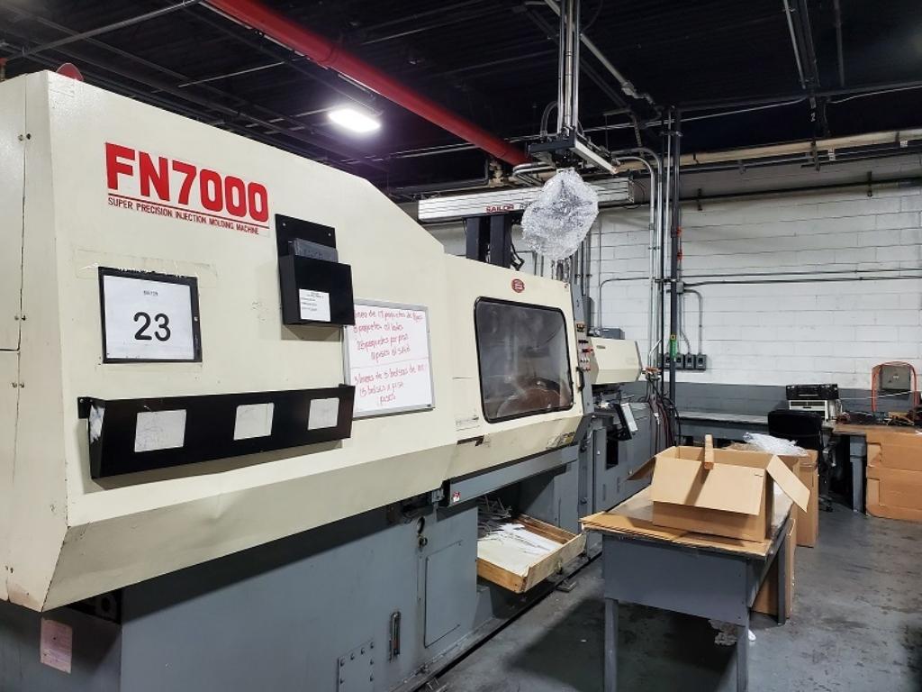 1998 398 ton Nissei 42.9 oz. FN7000