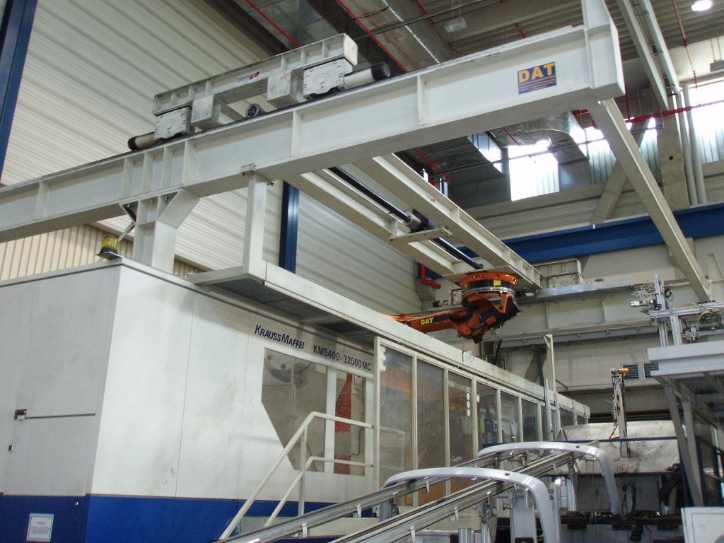 2001 5400 ton Krauss-Maffei 560 oz KM5400-32000MC