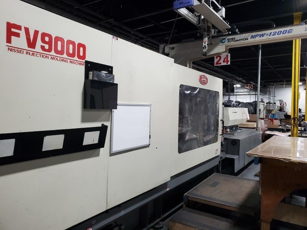 2002 620 ton Nissei, 132 oz. FV9000