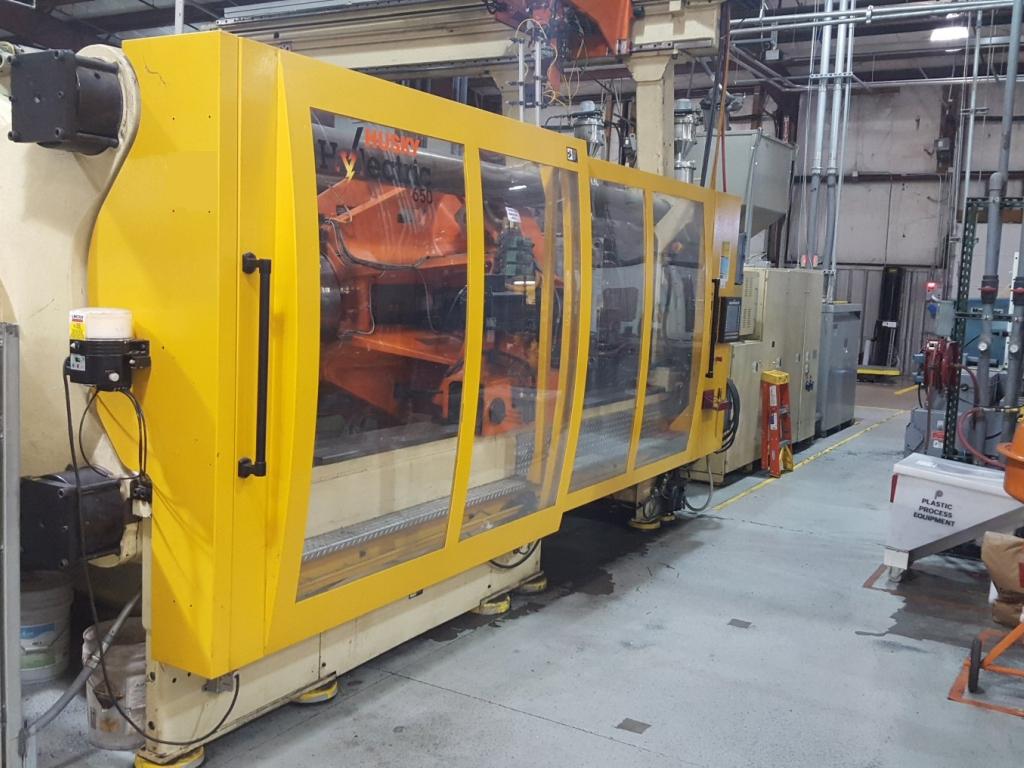 650 ton Husky Hylectric 2-Color
