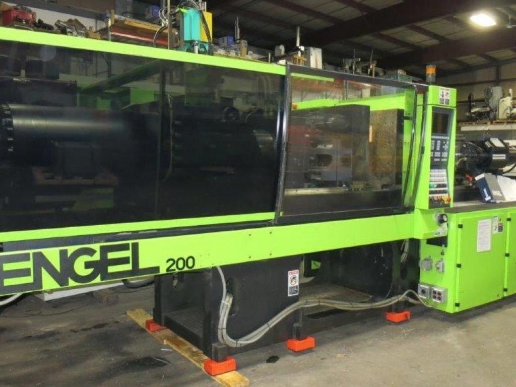 2004 200 ton Engel 19.7 oz TieBarLess