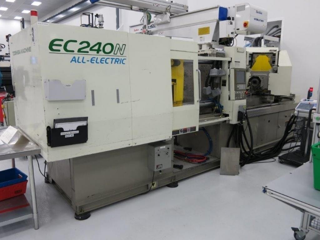 2005 242 ton Toshiba Electric EC240 10.3 oz