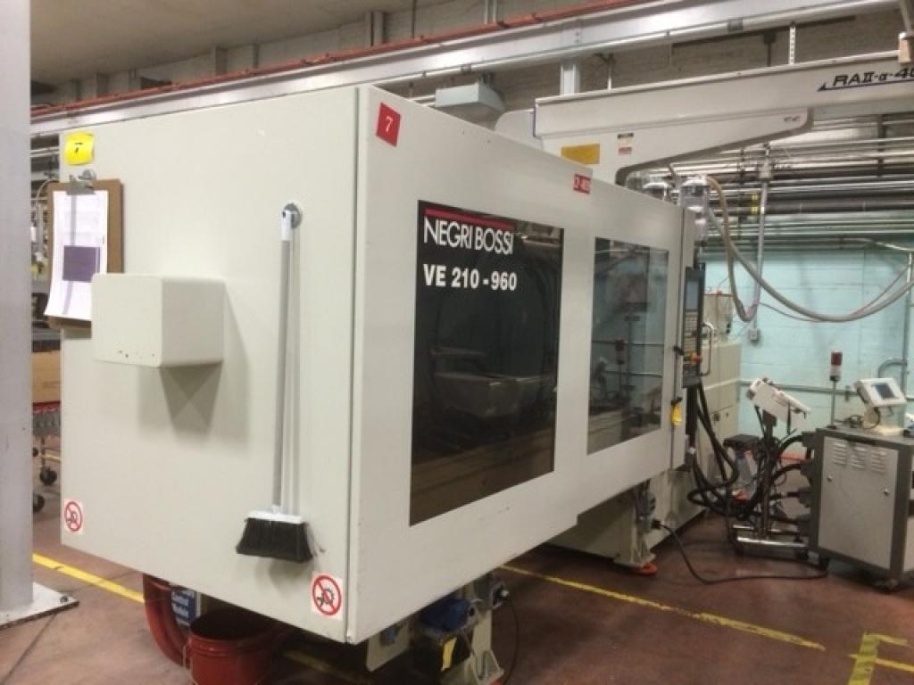 2005 210 ton Negri-Bossi Electric 15.3 oz