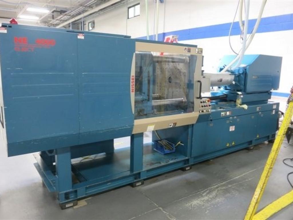 2005 198 ton Nissei NEX4000 9.6 oz Electric