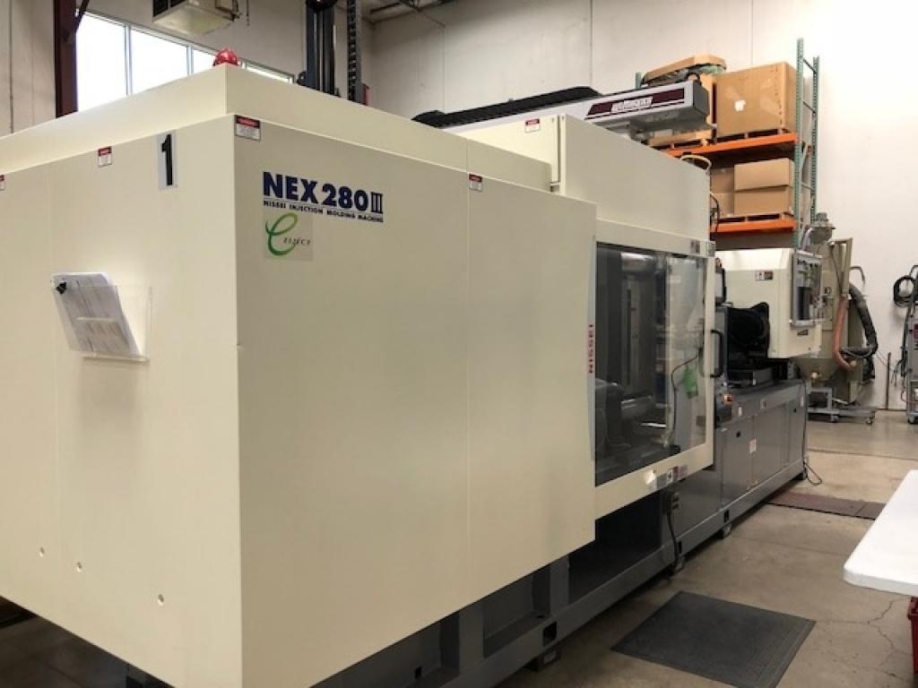 2015 309 ton Nissei NEX280, 32.9 oz Electric